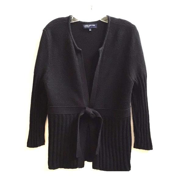 Jones New York Sweaters - Black Cardigan
